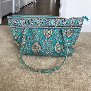 Authentic Vera Bradley overnight bag
